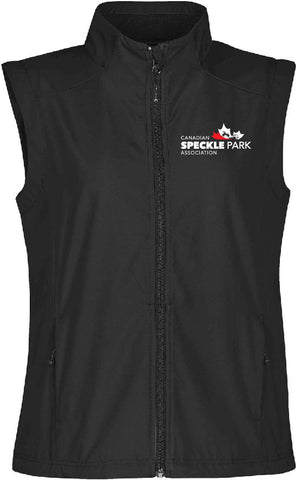 Speckle - Ladies Endurance Vest - Black