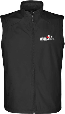 Speckle - Men's Endurance Vest - Black