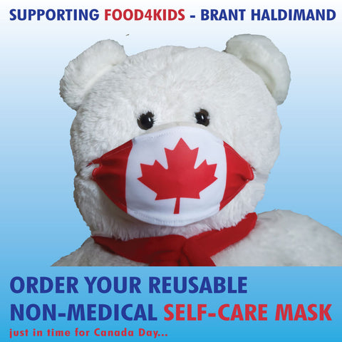 Self-Care Masks, Set of 4
