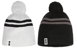 BYB Pompom Toque with Woven Tab Label