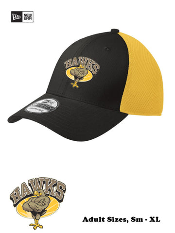 Hawks - Adult Baseball Cap, NewEra stretch