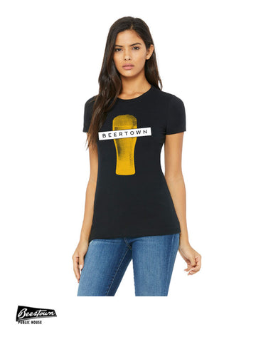 BEERTOWN - Ladies' T-Shirt - BT Pint