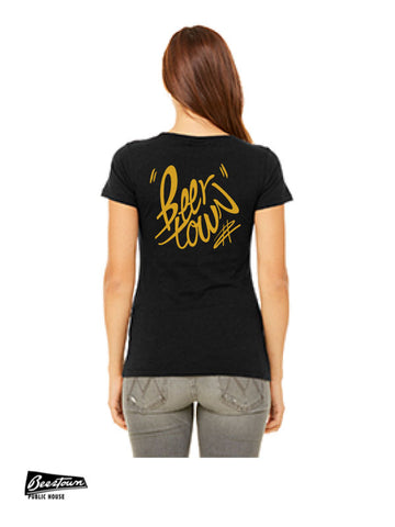 BEERTOWN - Ladies' T-Shirt - BT COVID ME