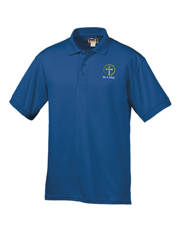 Be a Man - Men's Sport Polo