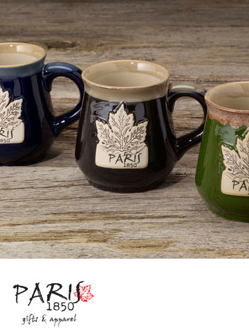 Paris 1850 - Stoneware Maple Mug