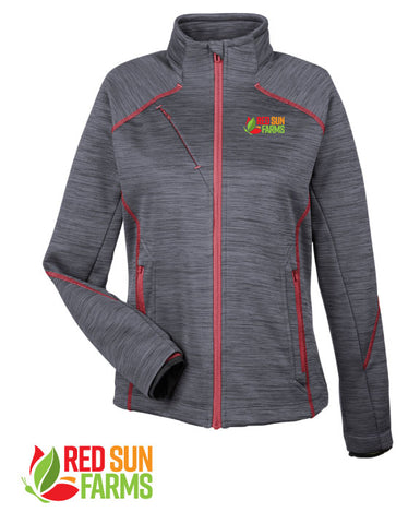 Red Sun Farms - Ladies' Flux Bonded Fleece Jacket