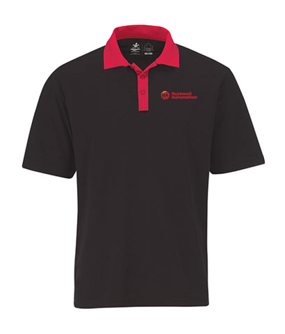 Rockwell - Mens 2-Tone Polo