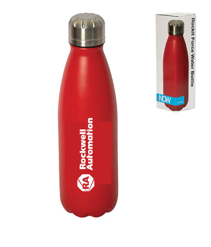 Rockwell - Stainless Water Bottle, Vacuum Insulated, case of 25