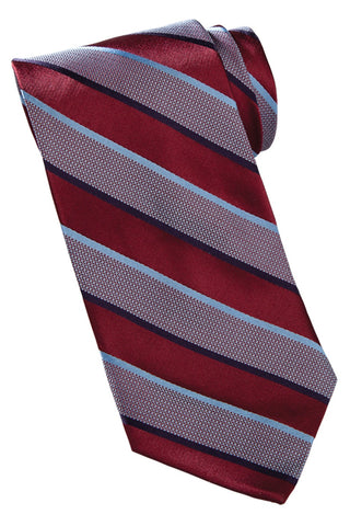 Cherrey Bus Lines - Wide Stripe Tie
