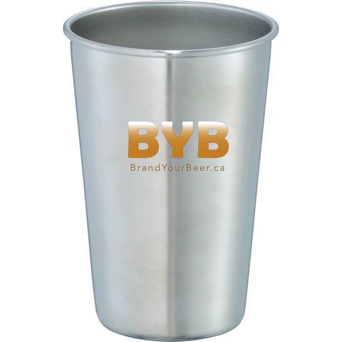 BYB Stainless Pint Glass