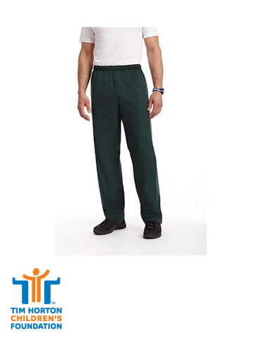 Tims Uniform CAN - Unisex Drawsting & Elastic 5 Pocket Scrub Pant