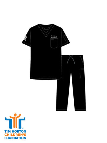 Tims Uniform US - Unisex Drawstring Scrub Set