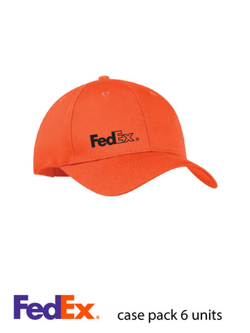 Orange ATC Mid Profile Twill Cap