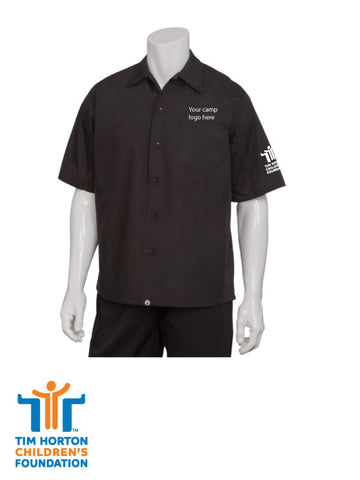 Tims Uniform CAN - Cool Vent Cook Shirt