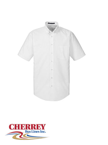 Cherrey Bus Lines - Men's Short Sleeve Dress Shirt
