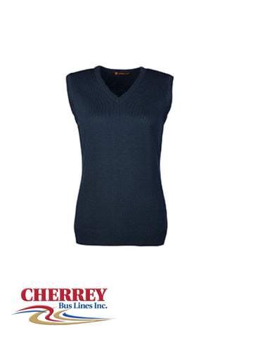 Cherrey Bus Lines - Ladies Sweater Vest