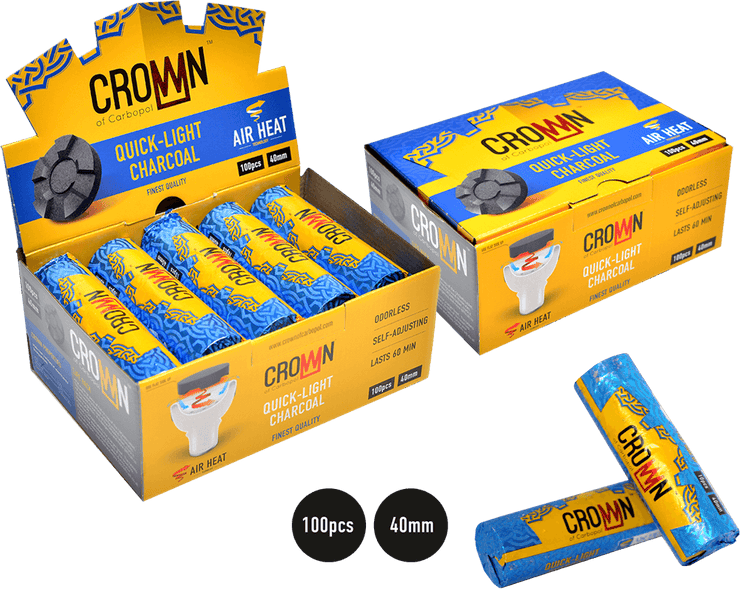 Crown of Cabopol Quick Light Charcoal (100 pcs)
