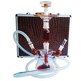Zahrah All Glass Hookah With Case