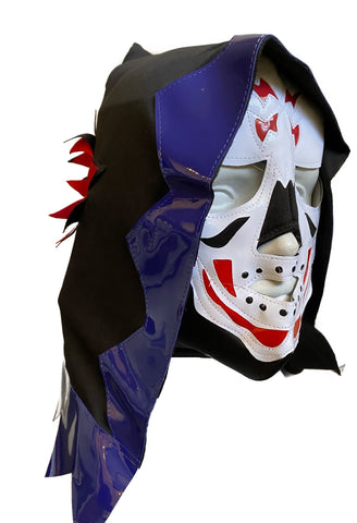 LA PARKA Halloween Lucha Libre Wrestling Mask (pro-fit) Black/Blue