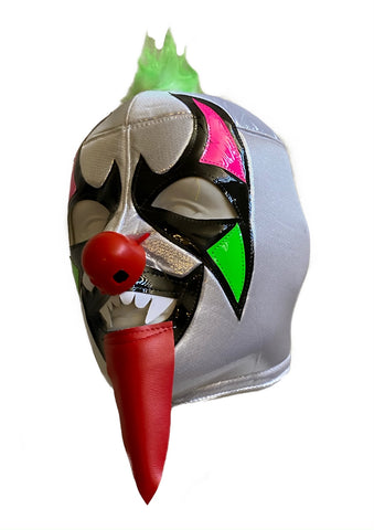 PSYCHO CIRCUS Clown Lucha Libre Wrestling Mask (pro-fit) Green