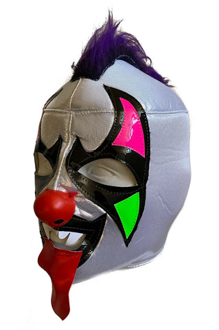 PSYCHO CIRCUS Clown Lucha Libre Wrestling Mask (pro-fit) Purple