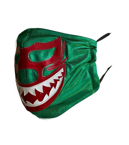 SHARK MIL MASCARAS  Lucha Libre novelty Adult size Lycra FACEMASK