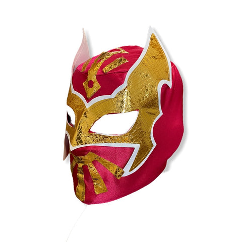 SIN CARA Youth Young Adult Lucha Libre Wrestling Mask - Neon Pink