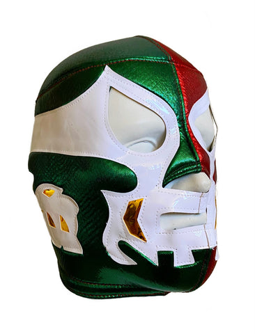 CANEK Vintage Lucha Libre Wrestling Mask (pro-fit) Mexico Colors