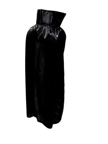 "YOUTH KIDS 30"" Lucha Libre Halloween Costume Cape - Metallic Black"
