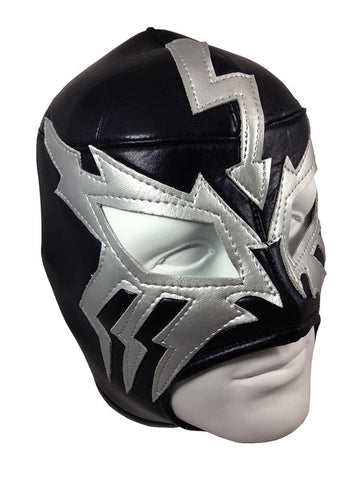 ELECTRICO Lucha Libre Wrestling Mask (pro-fit) Black/Grey