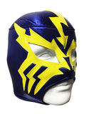 ELECTRICO Lucha Libre Wrestling Mask (pro-fit) Blue/Yellow