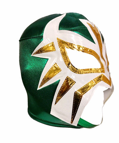LA MASCARA Lucha Libre Wrestling Mask (pro-fit) Green