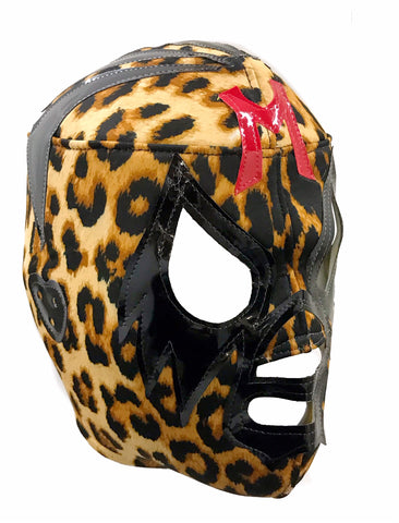 MIL MASCARAS Lucha Libre Wrestling Mask (pro-fit) Animal Print