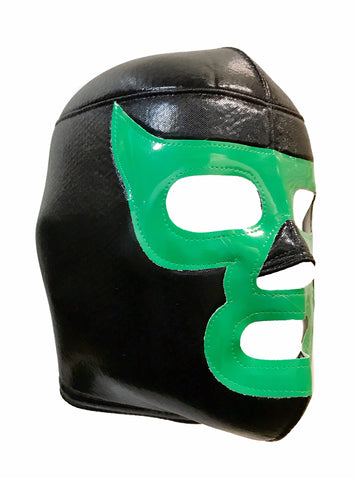 LUCHADOR DEMON Halloween Lucha Libre Wrestling Mask (pro-fit) Black/Green