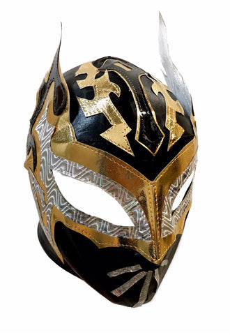 SIN CARA (Youth-LYCRA) Youth Lucha Libre Wrestling Mask - Black