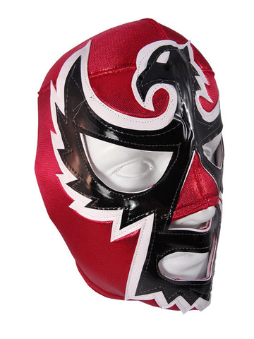 HALCON NEGRO Lucha Libre Wrestling Mask (pro-fit) Red/Black