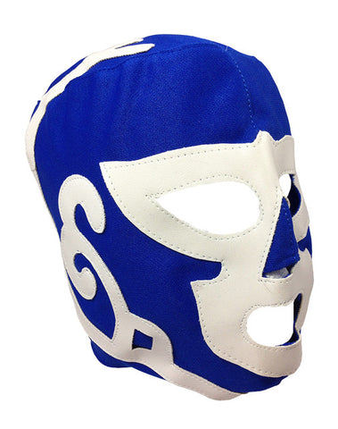 HURACAN RAMIREZ Youth Young Adult Lucha Libre Wrestling Mask - Blue/White