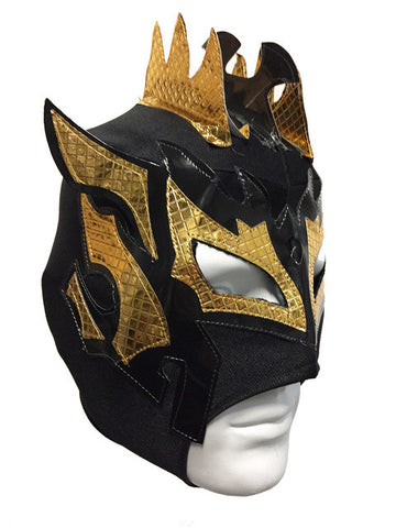 KALISTO Youth Young Adult Lucha Libre Wrestling Mask - Black