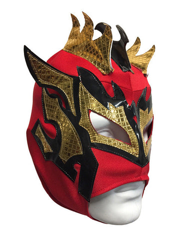 KALISTO Youth Young Adult Lucha Libre Wrestling Mask - Red