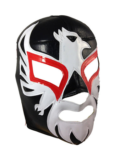 MEXICANO Lucha Libre Wrestling Mask (pro-fit) Black