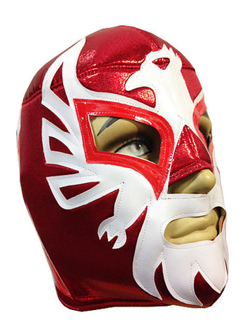 MEXICANO Lucha Libre Wrestling Mask (pro-fit) Red
