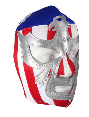 PATRIOT USA Lucha Libre Wrestling Mask (pro-fit) Stripes