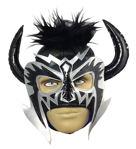 PSICOSIS Lucha Libre Wrestling Mask (pro-fit) Black/Grey