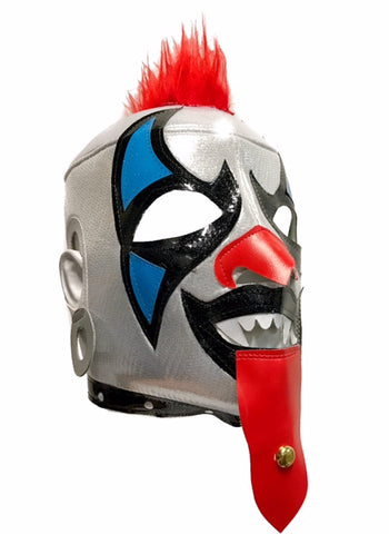 PSYCHO CIRCUS Lucha Libre Wrestling Mask (pro-fit) Red