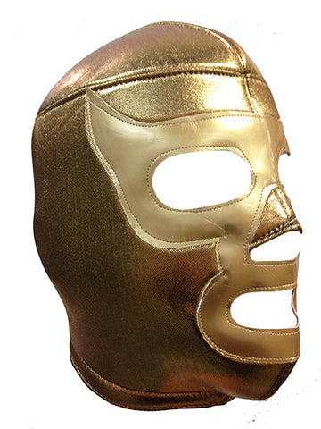 RAMSES Lucha Libre Wrestling Mask (pro-fit) Gold