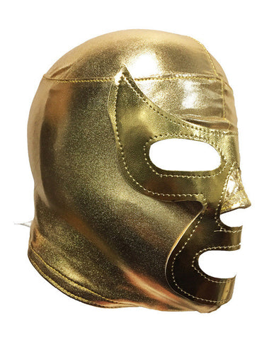 RAMSES (Youth-LYCRA) Youth Lucha Libre Wrestling Mask - Gold