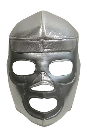 SILVER RAMSES Lucha Libre Wrestling Mask (pro-fit) Silver