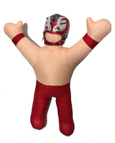 Rey Mysterio collectible plush toy puppet doll w/removable mask