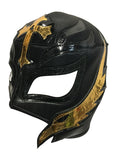 REY MYSTERIO Lucha Libre Wrestling Mask (pro-fit) Black/Gold