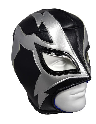 SHOCKER Lucha Libre Wrestling Mask (pro-fit) Black/Grey
